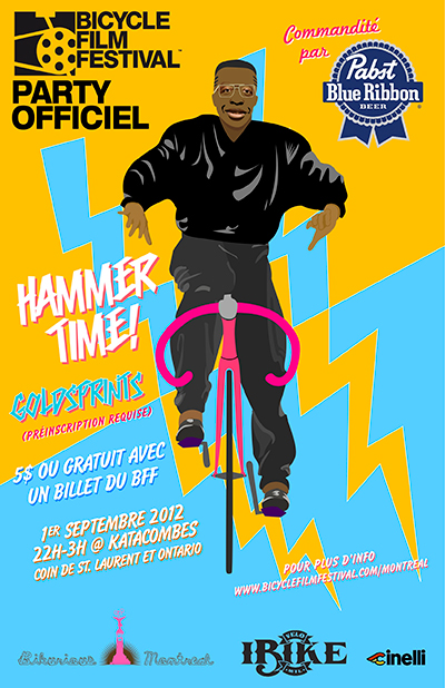 Muchar goes Bicycle Film Festival 2012 in Montreal